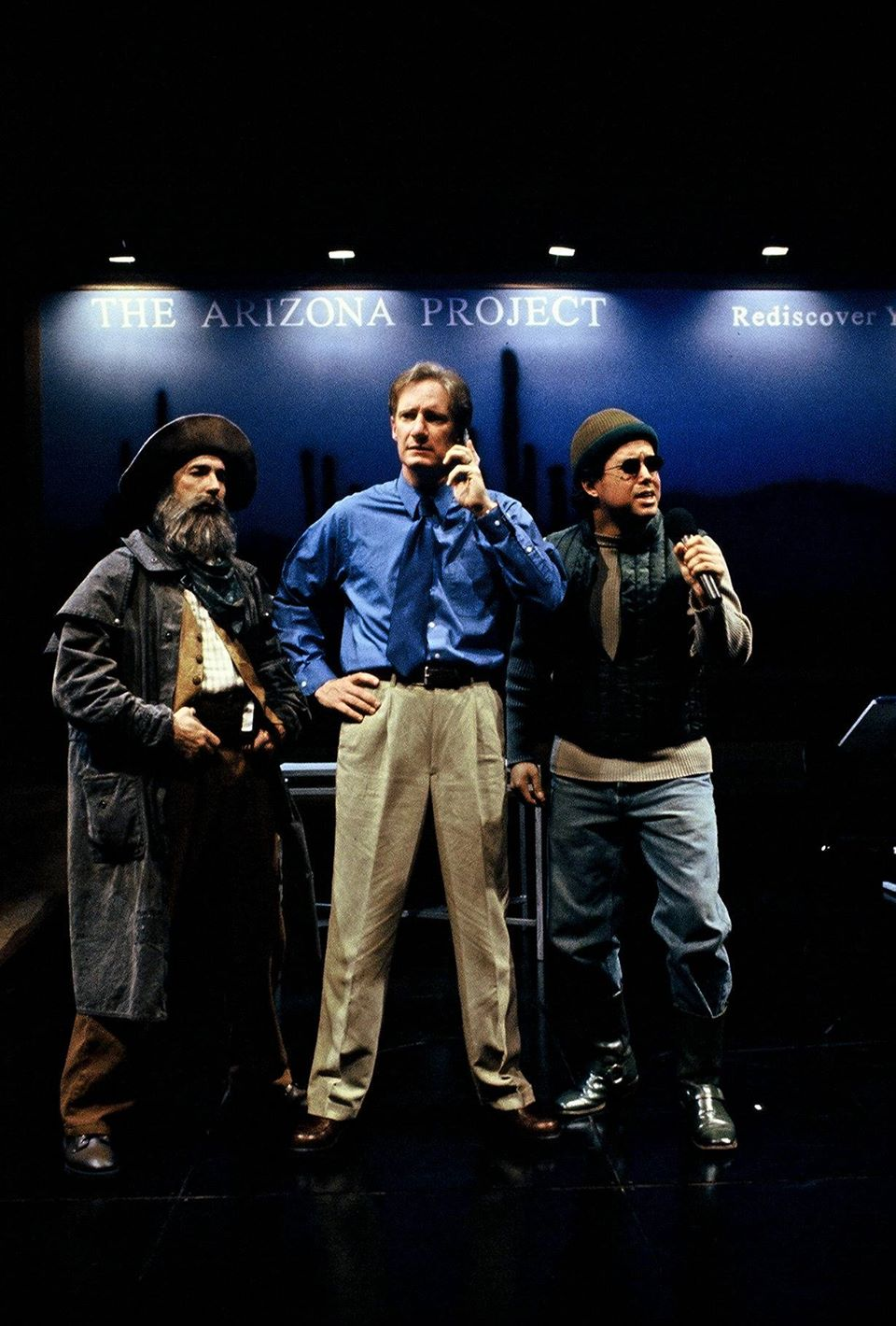Actors Theatre, 2000, The Arizona Project. Jon Gentry, Bob Sorenson, Richard Trujillo. (Photo credit unknown)
