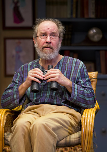 Charles Janasz in Arizona Theatre Company's 2014 production, Vanya and Sonia and Masha and Spike. (Photo by Jeff Smith)
