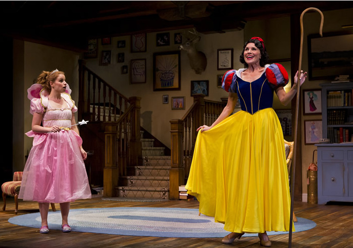 Ali Rose Dachis and Suzanne Bouchard in Arizona Theatre Company's Vanya and Sonia and Masha and Spike. (Photo by Jeff Smith)