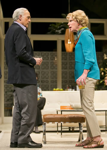 Lawrence Pressman and Anne Allgood in Arizona Theatre Company's Other Desert Cities. Photo by Tim Fuller/Arizona Theatre Company.
