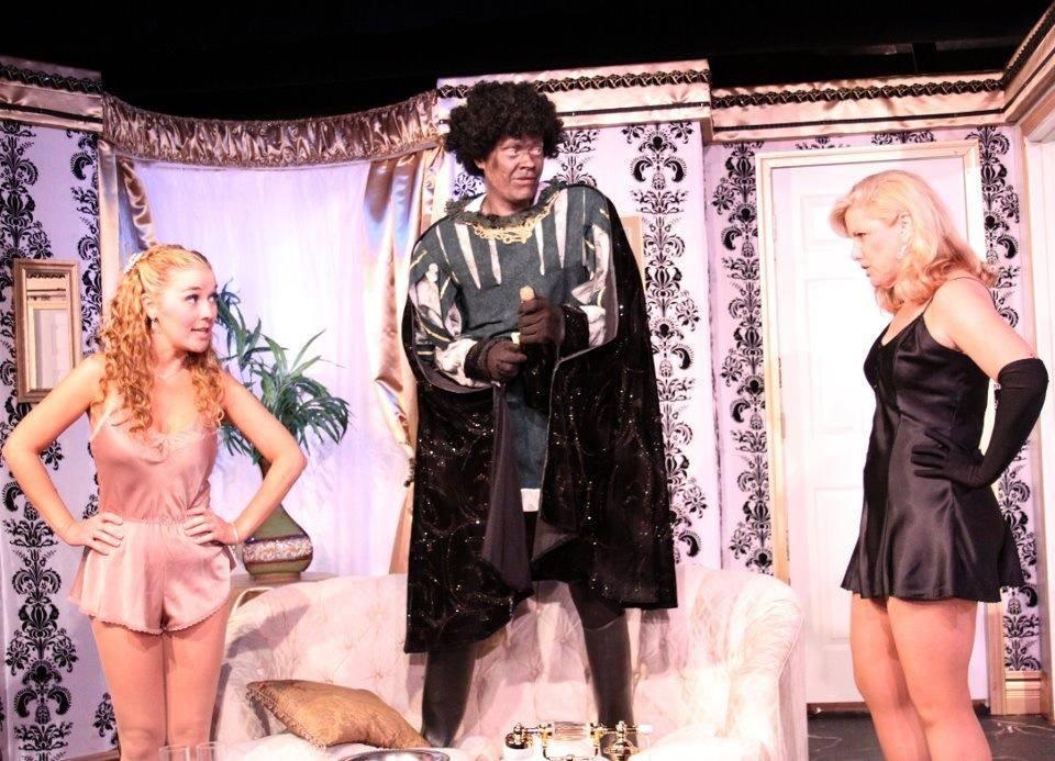 "Fountain Hills Theatre. ""Lend Me A Tenor,"" 2012. Melissa Powers, Michael C. Stewart, Diane Nieman Senffner."