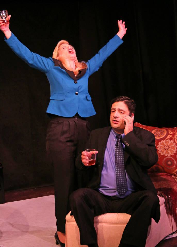 "Fountain Hills Theatre, ""God of Carnage,"" 2013-2014 Season. Diane Nieman Senffner, Scott Hyder."
