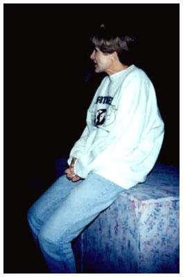 Judy Rollings in her director's uniform.