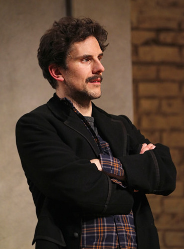 "Michael Tisdale in Arizona Theatre Company's May, 2014 production of ""Venus in Fur."""