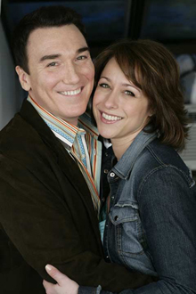 "Patrick Page has been married to Paige Davis, star of cable television's ""Trading Places,"" since 2001."