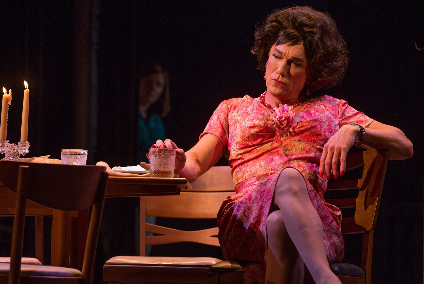 Actor Patrick Page co-stars in Harvey Fierstein's new play, Casa Valentina, which opened  April 23, 2014 on Broadway.