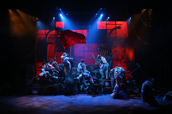 Phoenix Theater Les Miserables 2014 (Photo by Sara Chambers)