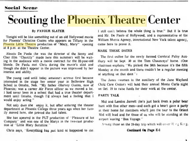 Phoenix Theatre Sept. 19, 1968 - Copy