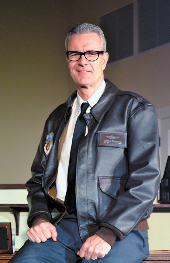 "Randy Messersmith as ""Goldwater: Mr. Conservative"" in the 2013 revival. (Photo courtesy of the Centennial Theatre Foundation)"