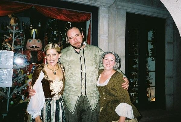 "Summer 2007. Southwest Shakespeare Sedona, ""Romeo & Juliet."" From left, Diane Nieman Senffner, Trey Clevenger and Vanessa Kiernan. Photo courtesy of Diane Nieman Senffner."