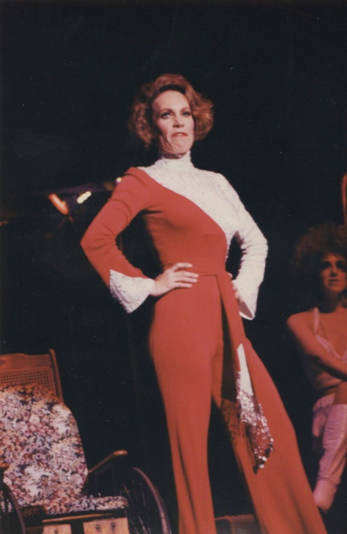 "Paty Lombard as Miss Mona in the Southern Arizona Light Opera Company's production of ""The Best Little Whorehouse in Texas."" Date unknown."