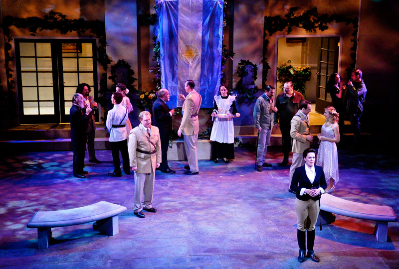 "A scene from ""Much Ado About Nothing,"" performed during the 2011-2012 Season by Southwest Shakespeare Company."