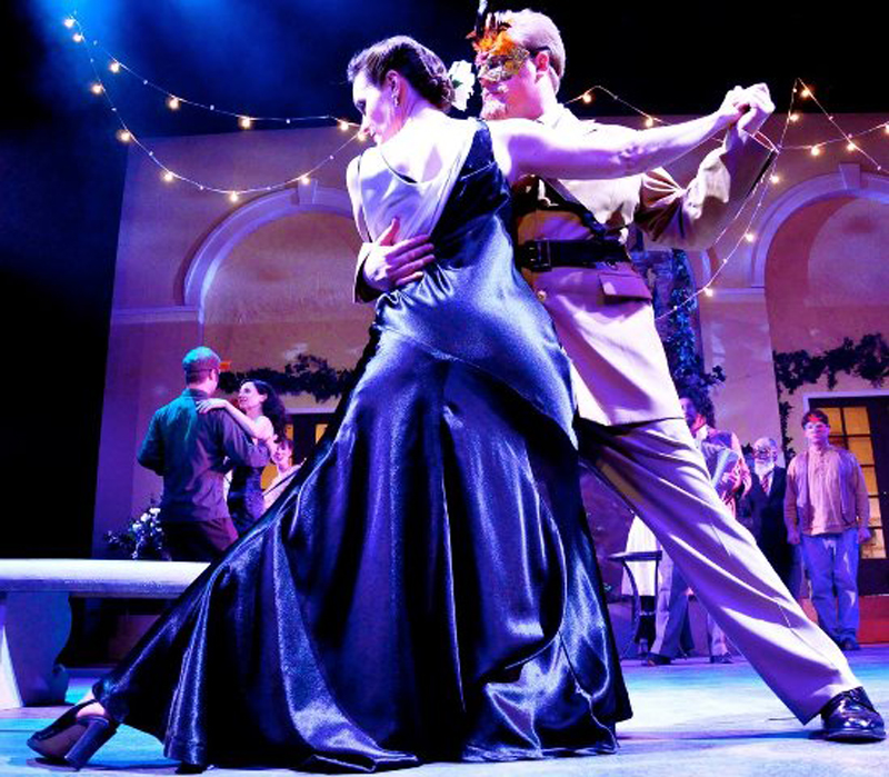"The tango was the inspiration for SSC's production of ""Much Ado About Nothing."""