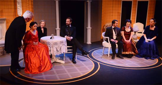 Theatre Artists Studio. 2015. ''The Heiress'' Photo by Mark Gluckman.