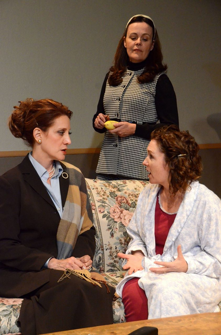 "Another scene from ""And Miss Reardon Drinks A Little."""