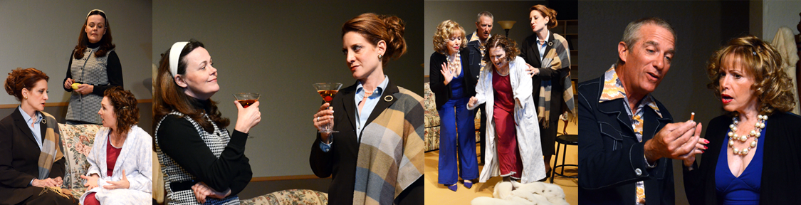 "Scenes from ""And Miss Reardon Drinks A Little"" at Theatre Artists Studio. Do you love that title or what?"