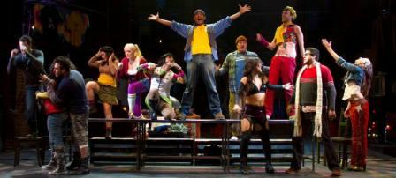 "The ""Rent"" cast. (Photo by Sara Chambers)"