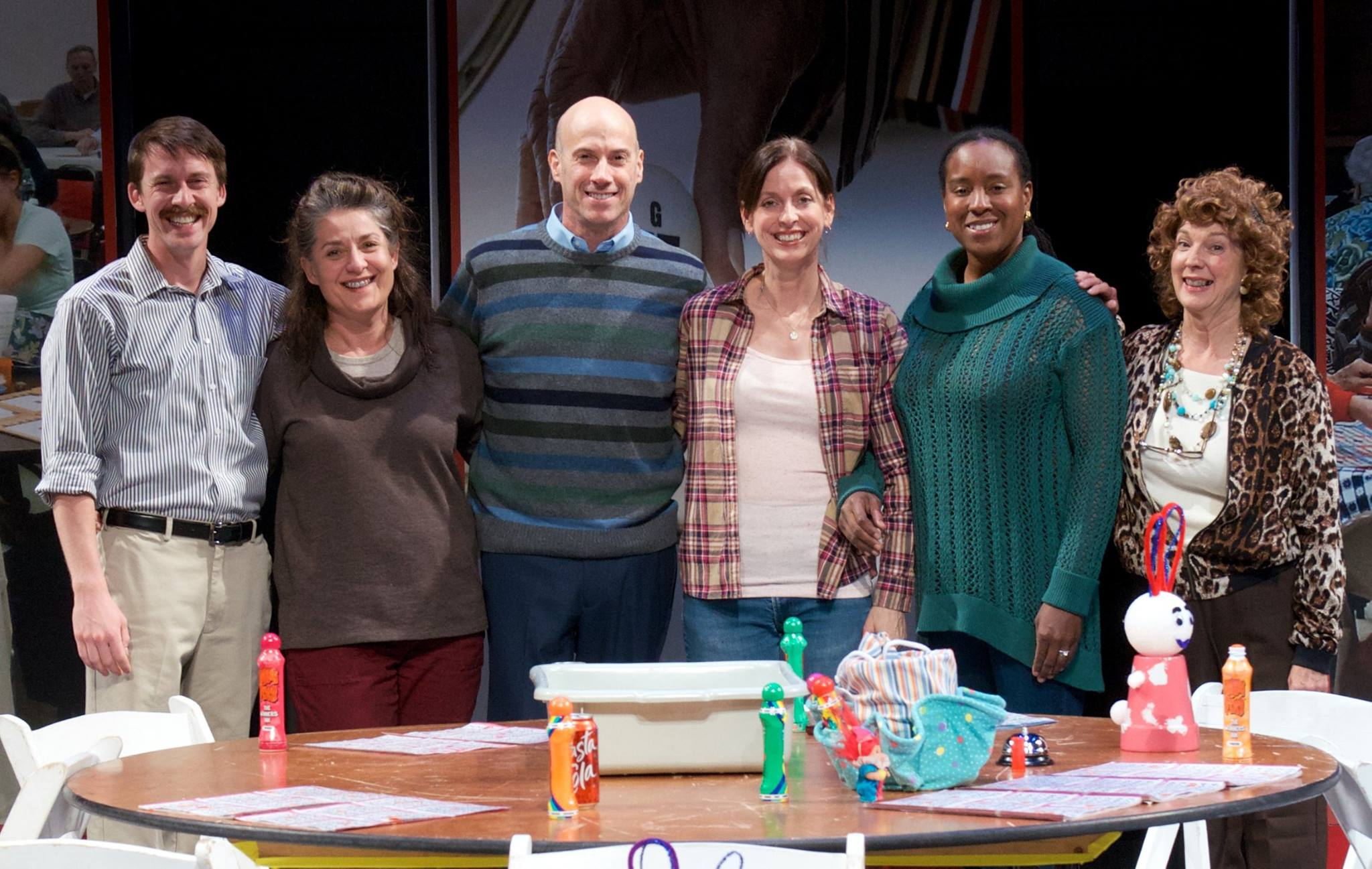 From left: Tyler Eglen, Maria Amorocho, Rusty Ferracane, Katie McFadzen, Shanique Scott, Cathy Dresbach. (Photo by John Groseclose)