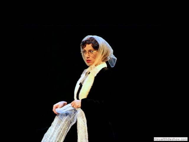 "Andi as Nerissa in ""The Merchant of Venice"" (Photo courtesy of Southwest Shakespeare Company)"