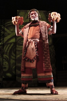 "Andres Alcala in Childsplay's 2011 production of ""The Sun Serpent."" (Photo courtesy of Childsplay)"