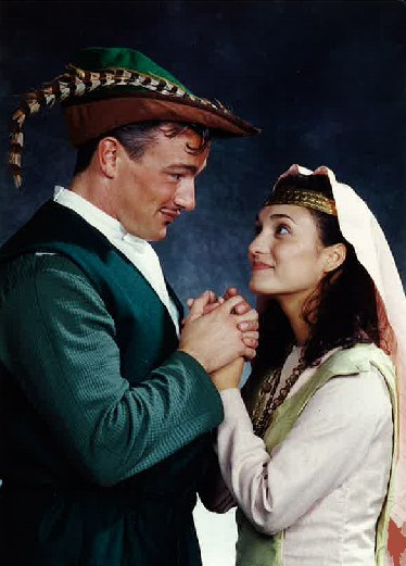 "Angelica Howland is Maid Marian in ""Robin Hood"" at Cookie Company."