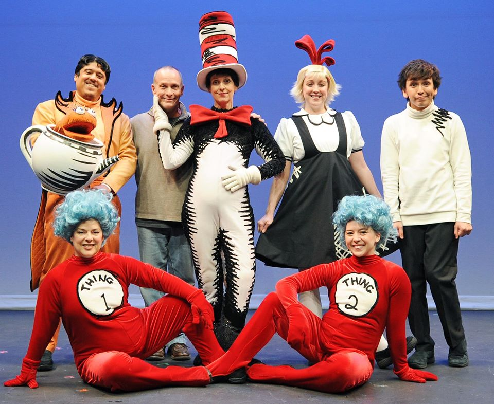 "The cast of Childsplay's 2014 production of ""The Cat in the Hat."" (Photography courtesy of Childsplay)"