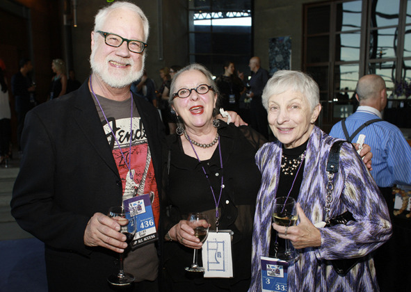 David and Sonja Saar with choreographer Fran Cohen at Childsplay's 2014 Rock the Schoolhouse Gala. (Photo credit unknown)