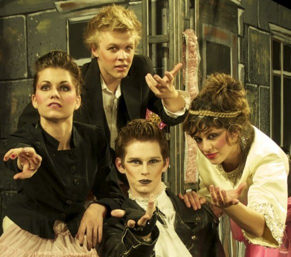 Greasepaint Youtheatre. 2009. Pippin. Cooper Hallstrom and fellow cast members.