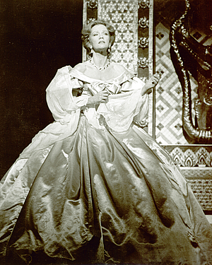 "Hayley Mills in ""The King and I"" at Gammage Auditorium."