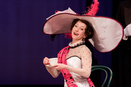 "Jeannie Shubitz as Eliza Doolittle in ""My Fair Lady"" at the Arizona Broadway Theatre (2011). (Photo credit unknown)"