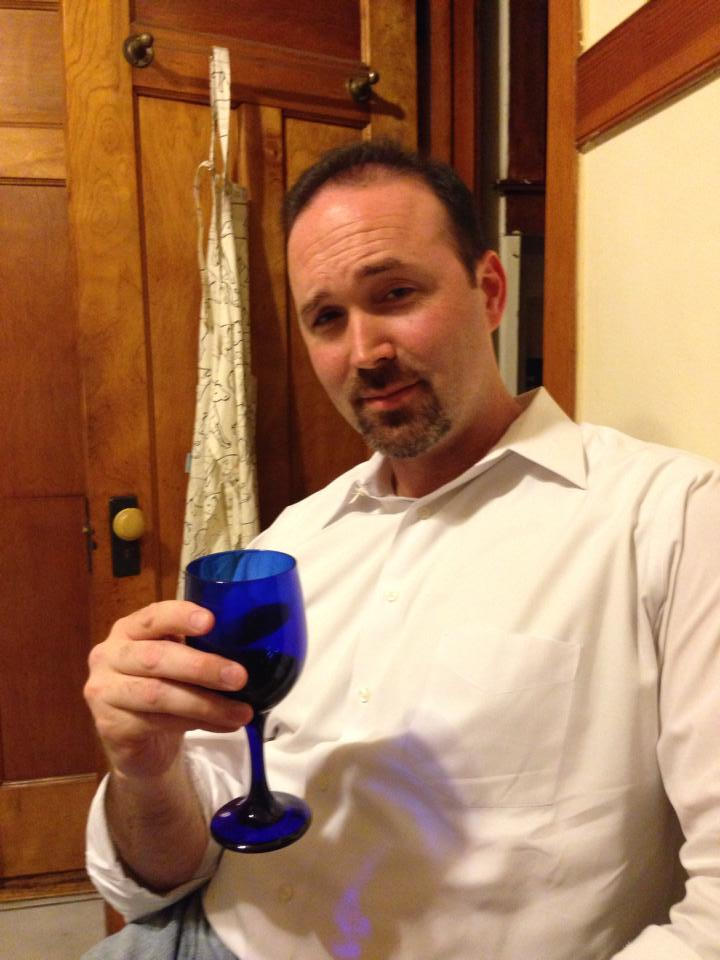 Joseph Kremer in his blue goblet phase.