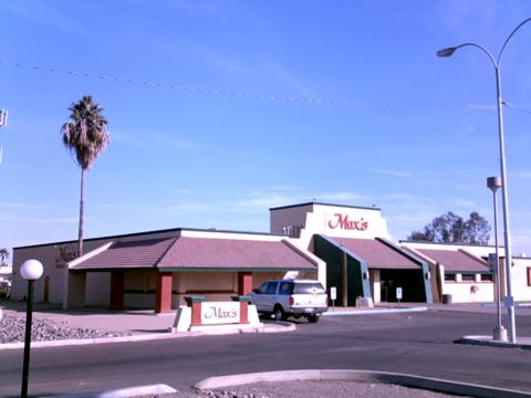 Max's Sports Bar & Dinner Theatre, Glendale.