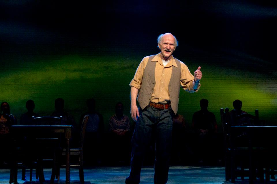 "Mike Lawler in ""Our Town,"" Phoenix Theatre, 2013. Photograph by Sara Chambers."