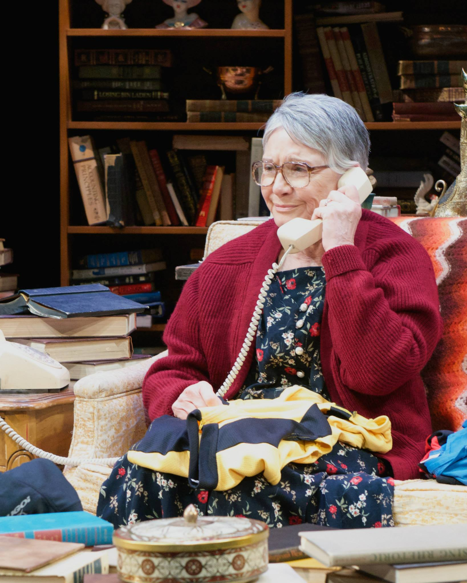 "Patti Davis Suarez in ""4000 Miles,"" 2014, Actors Theatre. (Photo by John Groseclose)"
