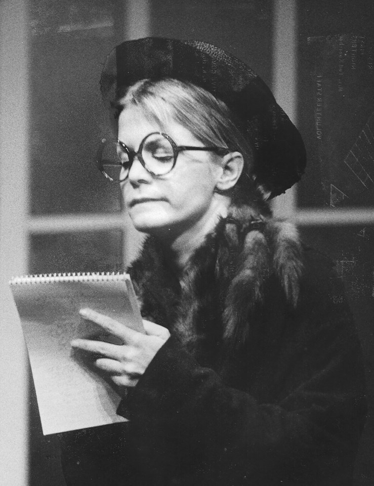 "Barbara McBain Walker as Gooch in the 1973 Phoenix Musical Theatre production of ""Mame."" (Photo credit unknown)"