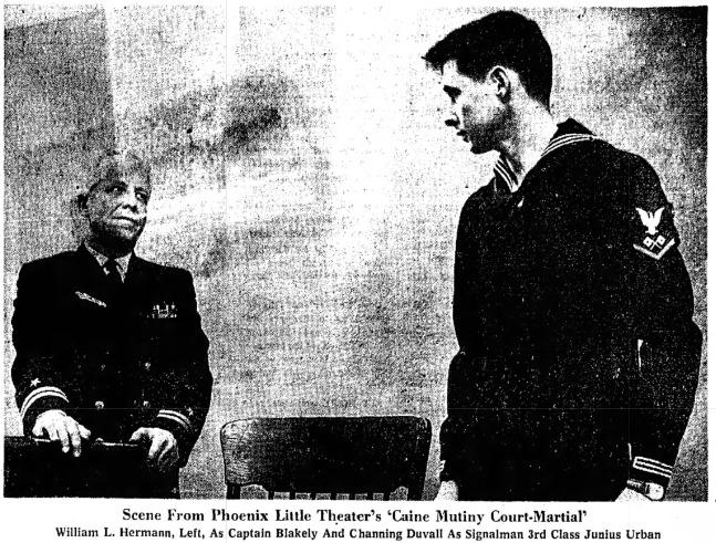 Phoenix Theatre 1961 Caine Mutiny Court Martial 001