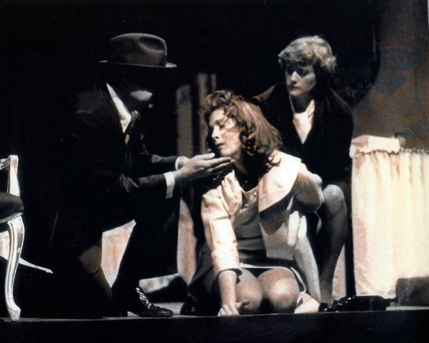 "Phoenix Theatre 1976 ""A Streetcar Named Desire,"" Jacqueline Gaston, Unidentified Actors (Photo credit unknown)"