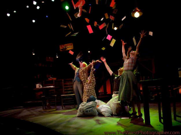 """Spitfire Grill'' at Phoenix Theatre in 2011 featured lighting by Michael J. Eddy. (Photo by Eric Sallee)"
