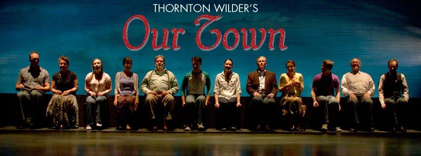 "The cast of ""Our Town,"" 2013, Phoenix Theatre: from left, Joseph Kremer, Maria Amorocho Weisbrod, Allison Houston, Sharri Watts, Robert Anthony Peters, Jenny Hintze Barber, Dion Johnson, Debby Rosenthal, Andy Cahoon, David Vining and Alan Ruch."