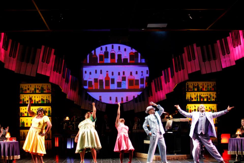 "The cast of ""Ain't Misbehavin'"", 2014, Phoenix Theatre. (Photo by Sara Chambers)"