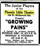Phoenix Theatre Dec. 10, 1939