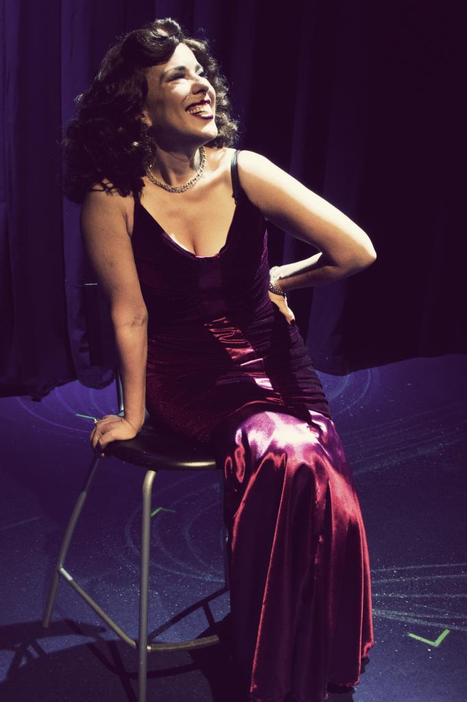 "Jenn Taber makes the most of a Gershwin tune in ""S'Wonderful"" at Phoenix Theatre. (Photo credit unknown)"