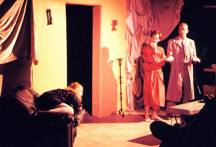 """Death by Dominatrix,"" Planet Earth Theatre. (Photo from the collection of Mollie Kellogg)"