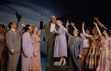 "Robert Weede and company in ""The Most Happy Fella."""