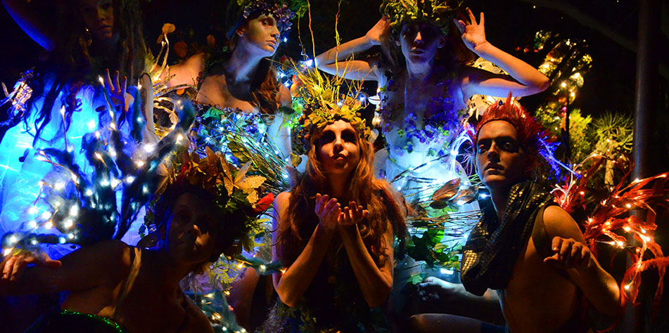 "The fairies offer blessings in ""FairyWorld!"" 
