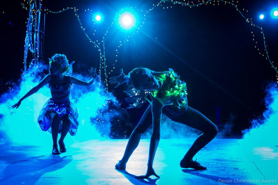 "Another of Devon Adam's magical shots of ""Fairy Worlds"" at Southwest Shakespeare Company."