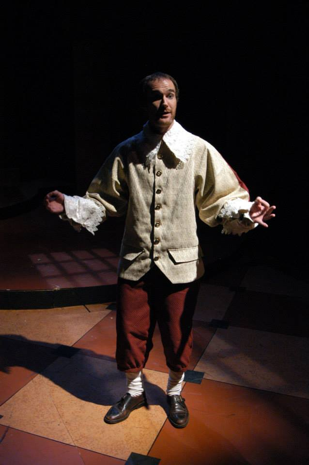 "Christian Miller in Southwest Shakespeare's 2004 production of ""Cardenio"". (Photo credit unknown)"