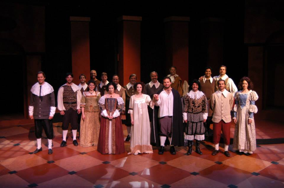 "The cast of Southwest Shakespeare Company's 2004 production of ""Cardenio."" (Photo credit unknown)"