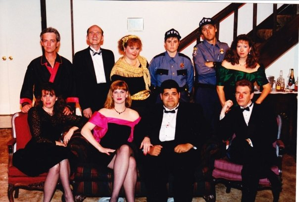 Theater Works. Rumors. 2009. Rumors — with Brian Hurley, Robyn Allen, Mike Lawler, Dena Kaye, Dina Kay Mountcastle, Julie Peterson, Greg Santos, Ron Hunting and Tom D'Vorak.
