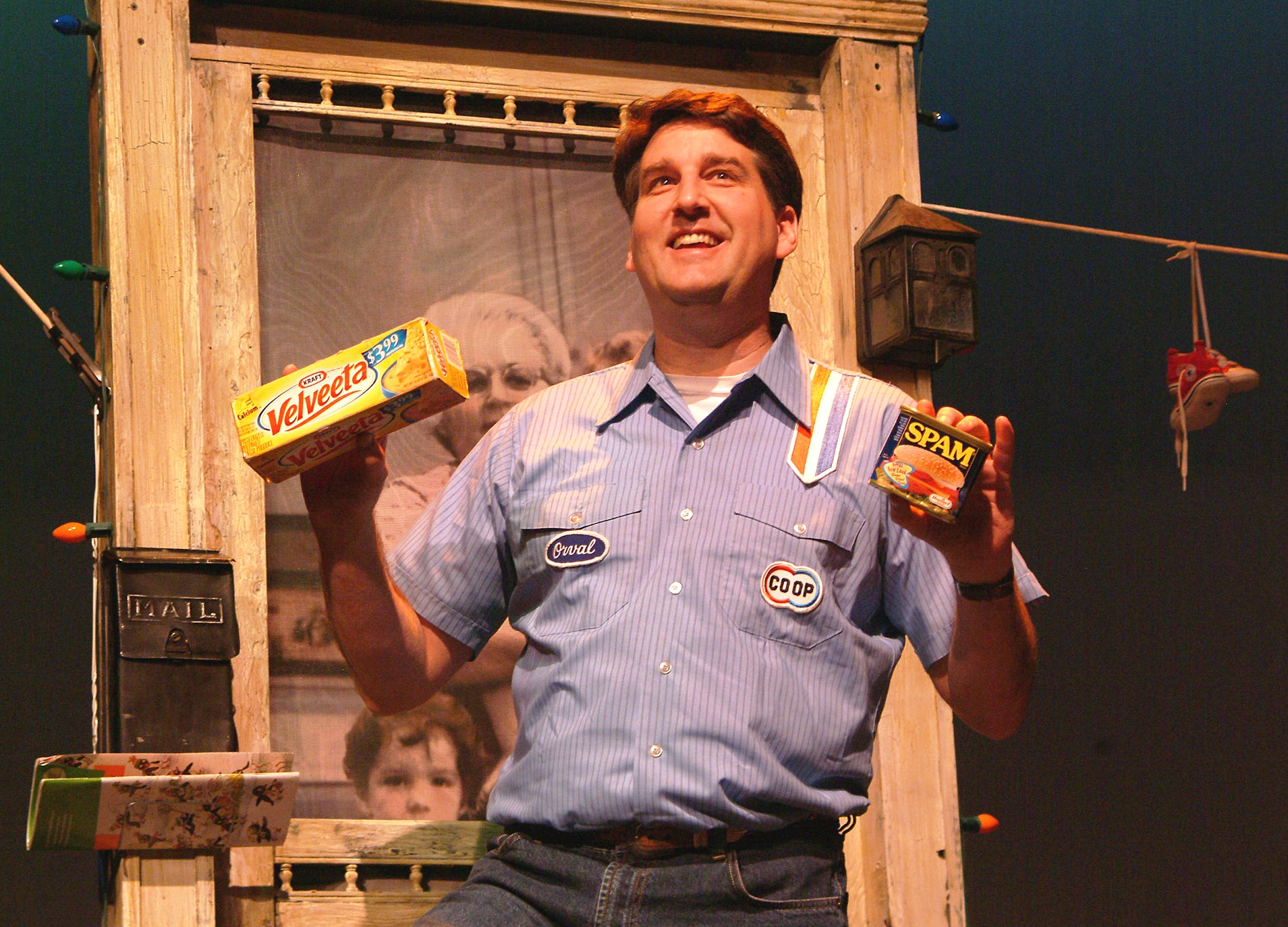 "John Mueller in ""The Wonder Bread Years."""